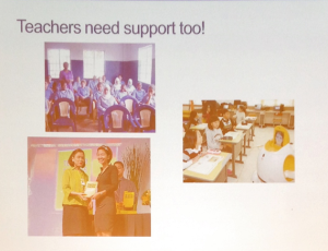 teachers need support too